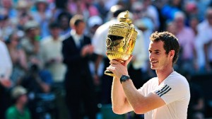 Andy Murray's Wimbledon Trophy Courtesy of ESPN