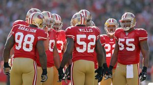 Perennial PRo Bowler Patrick Willis is the heart and soul of this defense Courtesy of CBS Sports