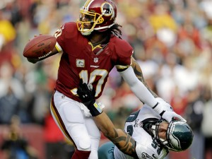 Robert Griffin III Courtesy of Freedom of Speech Sports