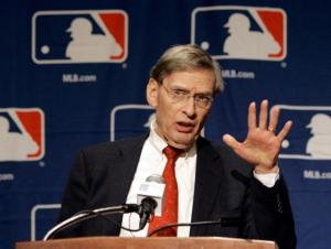 Commissioner Bud Selig Courtesy of NY Daily News