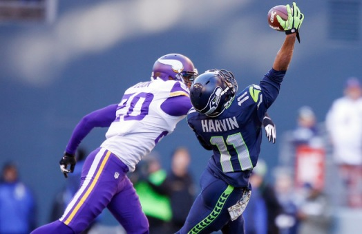 Seattle's special teams will also improve with Percy Harvin Courtesy of Sportsillustrated.cnn