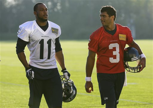 Russell Wilson's affinity for the deep ball with only grow with Percy Harvin in the mix Courtesy of News Tribune