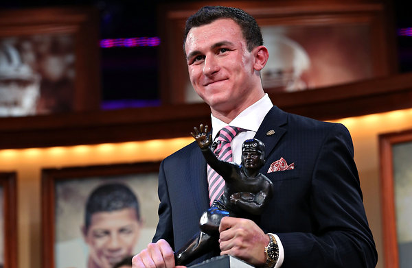Will the Texans take the electrifying Johnny Football? Courtesy of NY Times.com